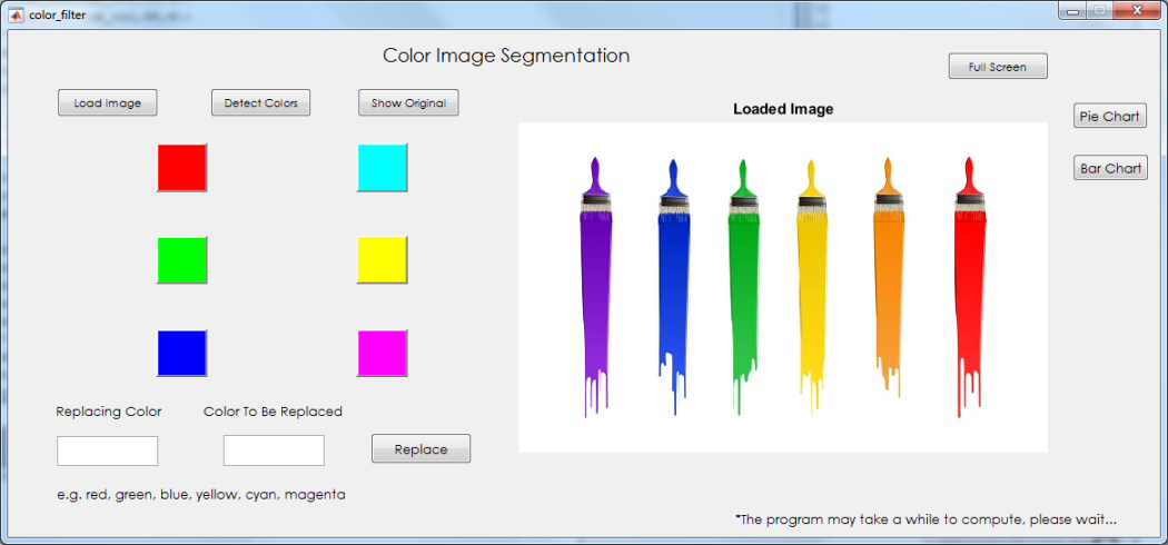 Color image segmentation using matlab source code my computer detect all colors bar chart ccuart Choice Image